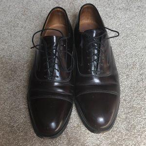 Johnston & Murphy Cap Toe Dress Shoes